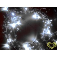Led Crystal stone Garland