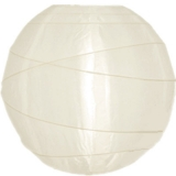 "6""Ivory Cross Ribbing Nylon Lantern"
