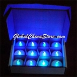 Blue Led Candle(12pc)