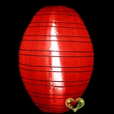 "10"" Red kawaii Nylon Lanterns"