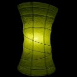 Chartreuse Eastern Drum Paper Lanterns