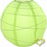 "20"" Neon Cross Ribbing Nylon Lantern"