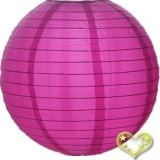 "42"" Violet Even Ribbing Nylon Lantern"