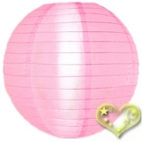 "42""Pink Even Ribbing Nylon lantern"