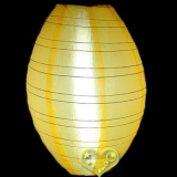 "10"" Gold Yellow kawaii Nylon Lanterns"