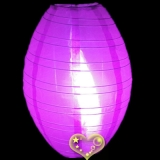 "10"" Violet kawaii Nylon Lanterns"