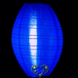 "10"" Dark Blue kawaii Nylon Lanterns"