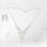 Czech Drilling Jewelry Sets- Tessels Necklace