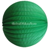"8"" Forest Green Accordion Paper Lanterns(12 pieces)"
