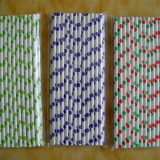 Wholesale Polka Dots Paper Straws(120 bags)