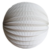 "20"" Ivory Accordion Paper Lanterns(10 pieces)"