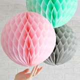 "Wholesale 14"" paper Honeycomb lanterns (150 of case)"