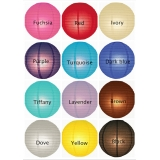 "10"" 12colors mixed Paper Lantern Wholesale(240 of case)"