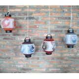 Battery Operated Paper Lantern set decor(4 of pack)