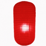 Red Capsule Shaped Paper Lantern