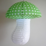 Small Dot with grass Mushroom Paper Lanterns(100 of case)
