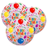 "10"" Happy Birthdayl Paper lantern for party-3 pacK"