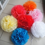 "16""Tissue Paper Pom Poms Ball wholesale-(600/CASE)"